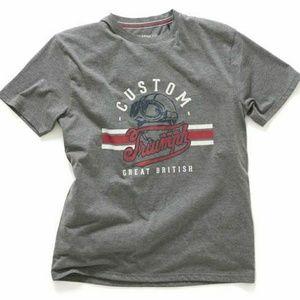 NWT Triumph Motorcycles Milton T-Shirt Large